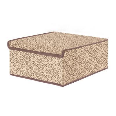 Коробка Prima House для мелких вещей с крышкой (280x280x130 мм)