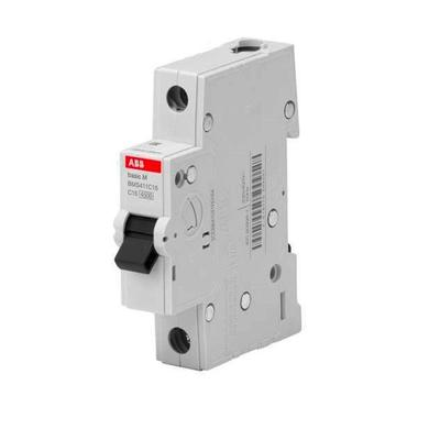 Выключатель автоматический ABB BMS411C10 1-полюсной ток 10 А мощность 4.5 кА (артикул производителя 2CDS641041R0104)