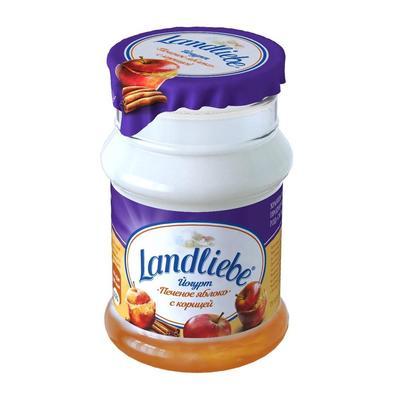 Йогурт Landliebe с печеным яблоком 3.2% 130 г