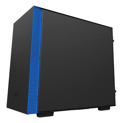Корпус NZXT CA-H200B-BL MINI-ITX BLACK/BLUE (CA-H200B-BL)