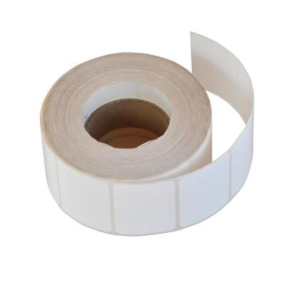 Термотрансферные этикетки полипропилен, 30х20мм, 2000 этикеток в рулоне, втулка 40мм (490236)