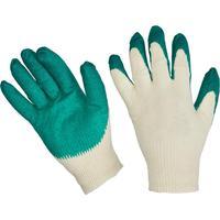 Перчатки рабочие защитные трикотажные с латексной заливкой 13 класс 10пар/уп