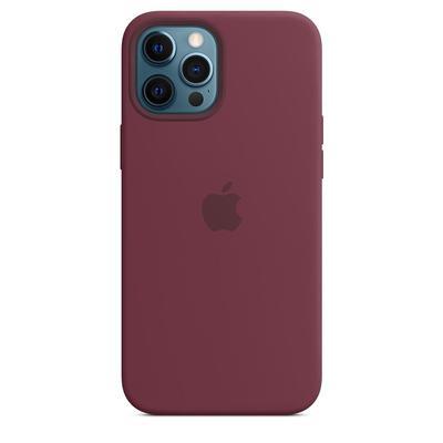 Чехол - крышка Apple Silicone Case MagSafe для iPhone 12 Pro Max фиолетовый MHLA3ZE/A