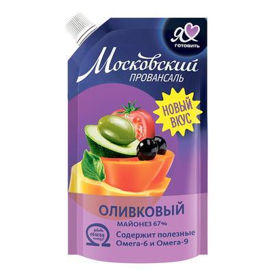 Майонез Московский Провансаль Оливковый 67% 390 г