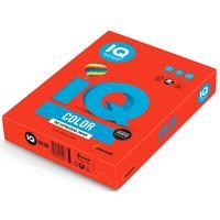 Бумага цветная для печати IQ Color красная интенсив CO44 (А4, 160 г/кв.м, 250 листов)