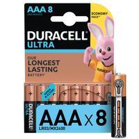 Батарейки Duracell Ultra мизинчиковые ААA LR03 (8 штук в упаковке)