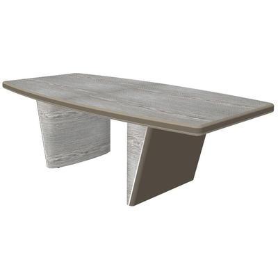 Стол для переговоров New.Tone Nt-220 (дуб серебристый/стоун, 2200х1100х740 мм)