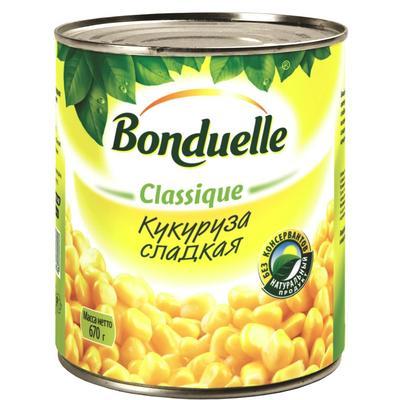 Кукуруза Бондюэль консервированная сладкая 670 г