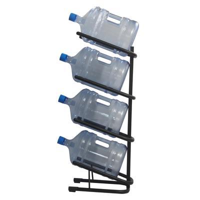 Стеллаж для бутилированной воды Бридж-4 на 4 тары по 19л черный
