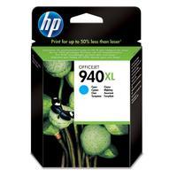 Картридж струйный HP 940XL C4907AE голубой повышенной емкости оригинальный