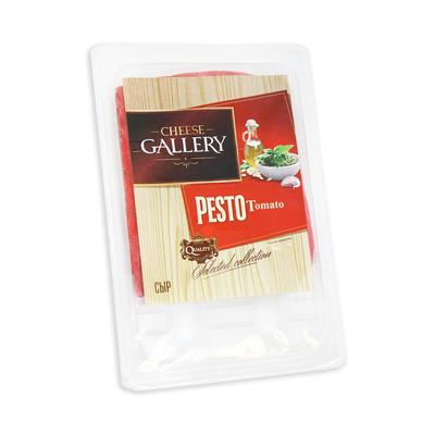 Сыр Сheese Gallery Песто Томато с приправой 45% 150 г