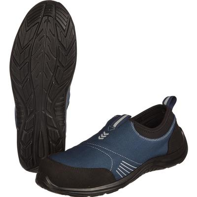 Кроссовки летние KD 001 из текстиля/искусственной кожи синие/черные с металлическим подноском (размер 46)