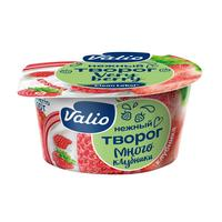 Творог Valio с клубникой 3.5% 140 г