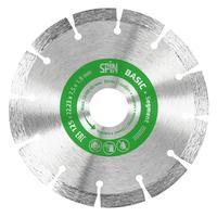 Диск алмазный Spin Segment Basic 125х7.5x1.9 мм (651219)