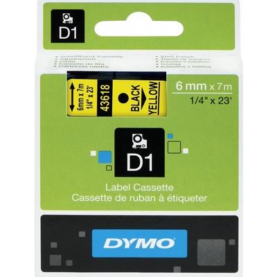 Картридж для принтера этикеток DYMO S0720790 (6 мм x 7 м, цвет ленты желтый, шрифт черный)