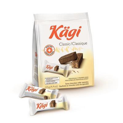 Вафли Kagi Classic mini в молочном шоколаде 125 г