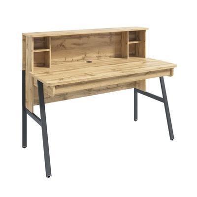 Стол компьютерный Homeoffice (дуб натуральный, 1380x652x1096 мм)