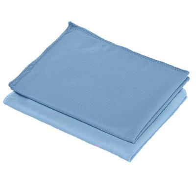 Салфетки хозяйственные Fullbox Shine микрофибра 40x30 см синие 5 штук в упаковке
