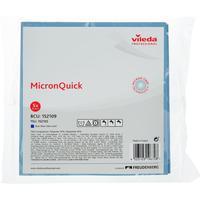 Салфетки хозяйственные Vileda Professional МикронКвик микроволокно (микрофибра) 40x38 см синие 5 штук в упаковке (арт. производителя 152109)