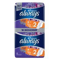 Прокладки женские гигиенические Always Ultra Platinum Normal Plus Duo (16 штук в упаковке)
