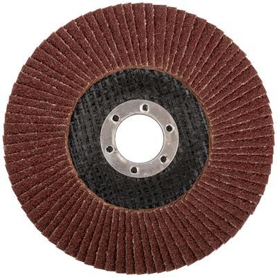Круг шлифовальный лепестковый торцевой (125 мм, Р 40) FIT (39552)