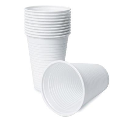 Стакан одноразовый Grifon Эконом пластиковый белый 200 мл 100 штук в упаковке
