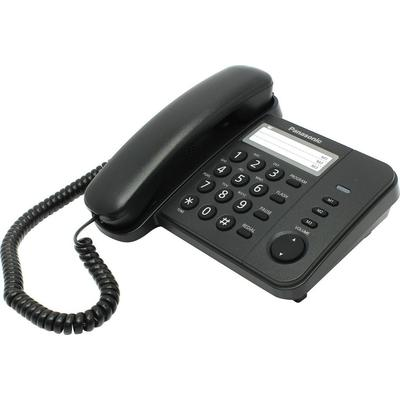 Телефон проводной Panasonic KX-TS2352RUB в ассортименте