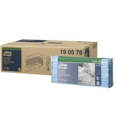 Нетканый протирочный материал Tork 190578 W4 синий (80 листов в  упаковке)