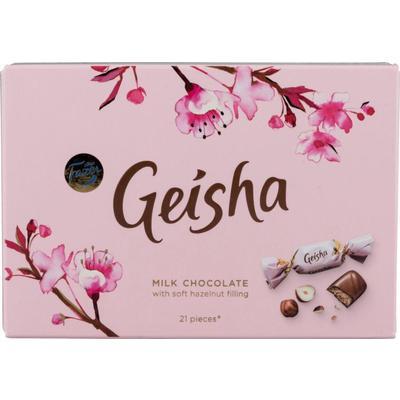 Шоколадные конфеты Geisha с тертым орехом 150 г