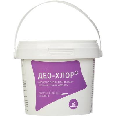 Средство дезинфицирующее Део-хлор хлорные таблетки (300 штук в упаковке)