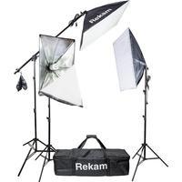 Комплект осветителей Rekam CL-435-FL3-SB Boom Kit
