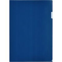 Папка-уголок Attache А3 пластиковая 180 мкм синяя (20 штук в упаковке)