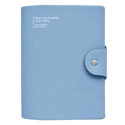 Ежедневник недатированный InFolio Prague искусственная кожа А6+ 96   листов голубой (120х170 мм)