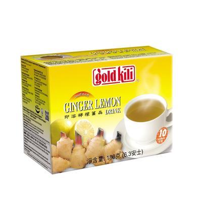 Имбирный напиток Gold Kili с лимоном и медом 10 пакетиков