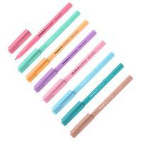 Ручка шариковая Schneider Tops 505 F Light Pastel синяя (в ассортименте, толщина линии 0.4 мм)