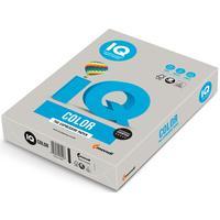 Бумага цветная для печати IQ Color серая медиум GR21 (А4, 160 г/кв.м, 250 листов)