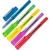 Ручка гелевая Attache Jolly синяя (толщина линии 0.35 мм)