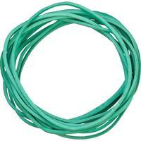 Резинка банковская универсальная 100 г (диаметр 60 мм, толщина 1.5 мм, в зеленый)