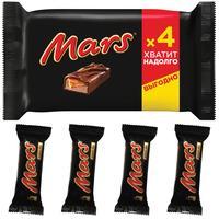 Шоколадные батончики Mars (4 штуки по 40.5 г)