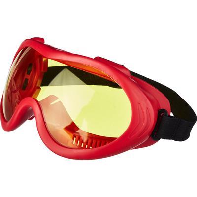 Очки защитные закрытые универсальные РОСОМЗ ЗН55 Spark желтые (25536)