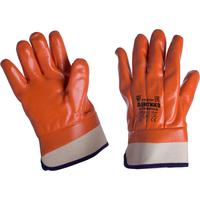 Перчатки рабочие Арктика трикотажные с ПВХ покрытием (утепленные, размер 10)
