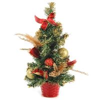 Елка новогодняя настольная 40 см с декором