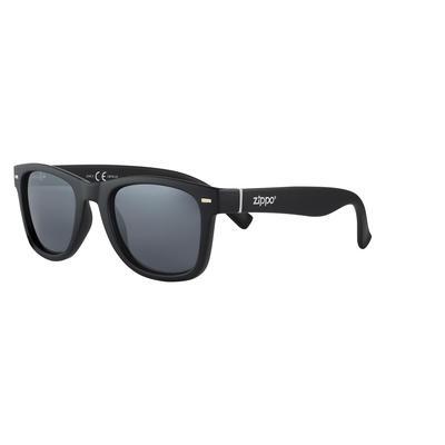 Очки солнцезащитные в чехле Zippo черные (OB76-02)