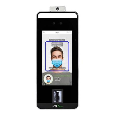 Терминал распознавания лиц и температуры ZKTeco SpeedFace-V5L[TD