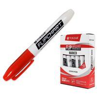 Маркер для бумаги для флипчартов Tukzar красный (толщина линии 2.5 мм)