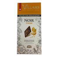 Шоколад Villars темный с цукатами из апельсиновых корочек 100 г