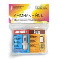 Валик ватный набор аммиак+йод (2 штуки в упаковке)