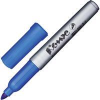 Маркер перманентный Комус PY2304 синий (толщина линии 1-4 мм) круглый наконечник