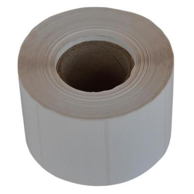 Термотрансферные этикетки 58x40 мм полипропиленовые (диаметр втулки 40 мм, 700 штук в рулоне)