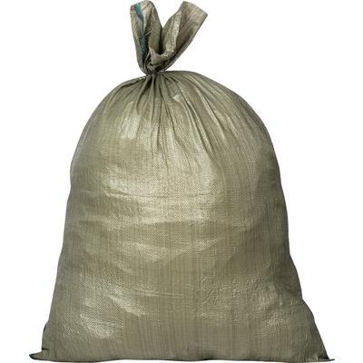 Мешок полипропиленовый второй сорт зеленый 90x130 см (100 штук в упаковке)